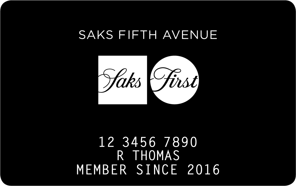 Saks Fifth Avenue Store Card