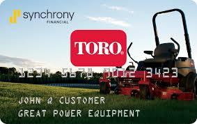 Toro Credit Card