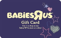 Babies R Us Gift Card - $40.00