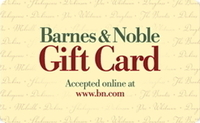 Barnes & Noble Gift Card - $50.00