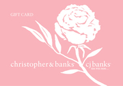Christopher & Banks Gift Card - $400.00