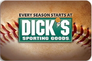 Dick's Sporting Goods Card