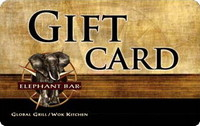 Elephant Bar Restaurant Gift Card - $50.00