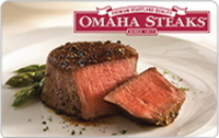 Omaha Steaks Card