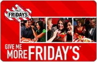 TGI Friday's Gift Card - $50.00