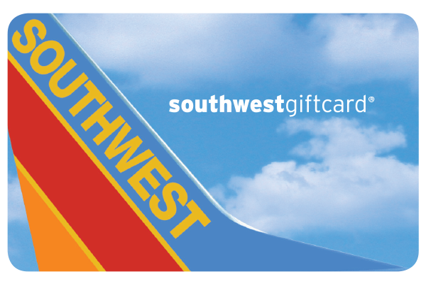 Southwest Airlines Gift Card - $50.00
