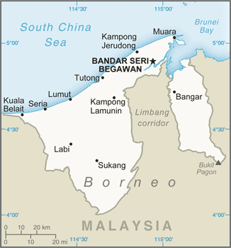 BN country map