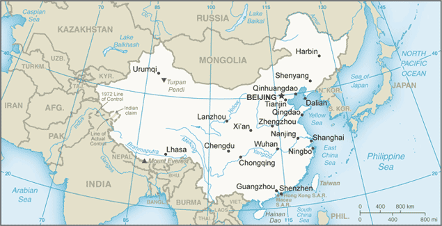 CN country map
