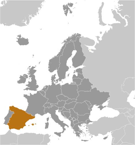 ES country location
