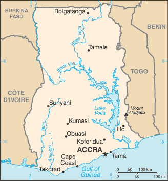 GH country map