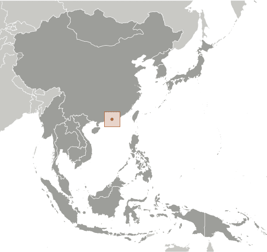 HK country location