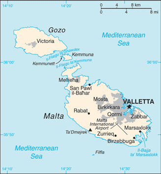 MT country map