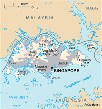 SG country map