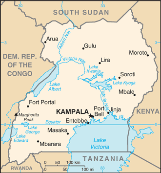 UG country map