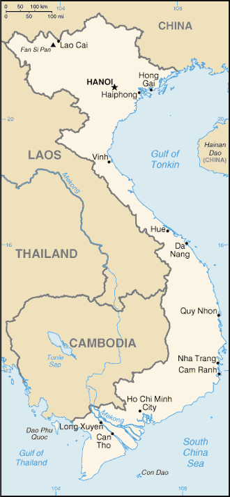 VN country map