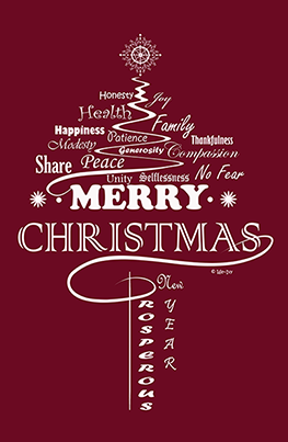 Wishes from weivyartbook.com. The wishing tree is created by We~Ivy for Christmas & New Year. This typography art  is available in daily-quote version at We~Ivy's Art BootH to purchase, so that you can bring the Christmas positive traits into your daily life for all year long. Follow & share pinterest.com/weivyARTBOOTH