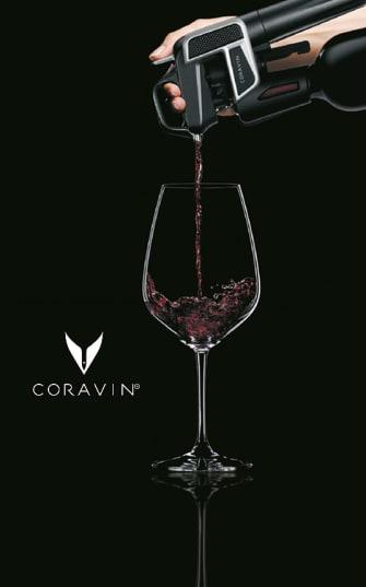Coravin: Wein einschenken leicht gemacht