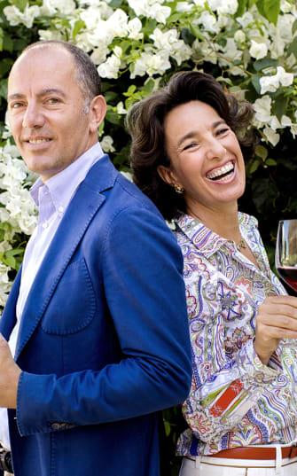 Führen das Weingut Donnafugata: die Rallo-Familie