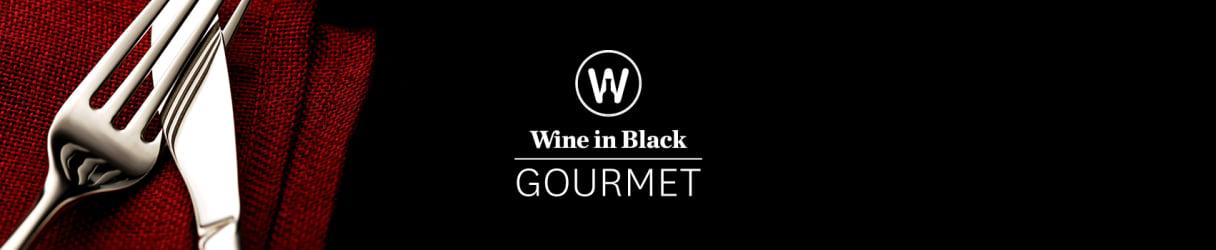 Wine in Black Gourmet