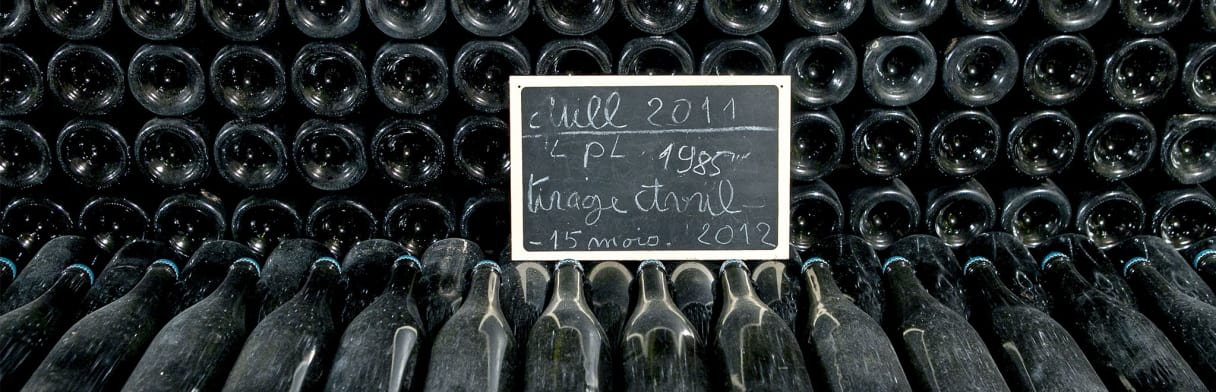 Champagne Louis Nicaise - lagernde Flaschen Jahrgang 2011