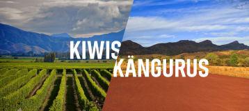 Kiwis vs. Kängurus
