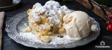 Appel-perencrumble dessert