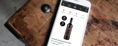 Die Wine in Black-App