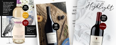 La newsletter Wine in Black