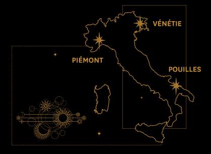 Un voyage des sens à travers l'Italie
