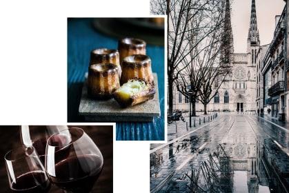 Bordeaux Stadt Wein Canalee