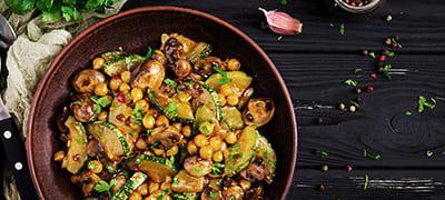 Wein-Tipp zu vegetarischen Gerichten