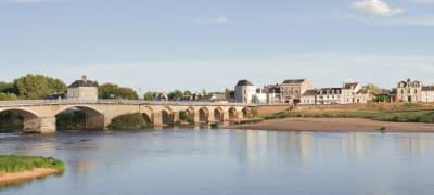Loire Brücke Wein