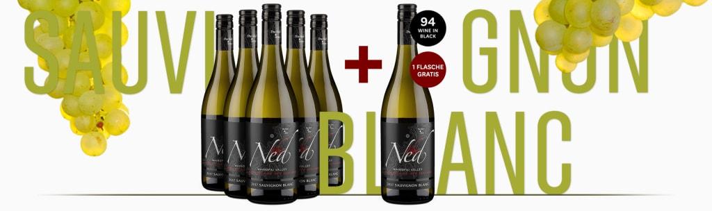 Nr. 1 Overzeese Witte Wijn - 'The Ned' Waihopai Valley