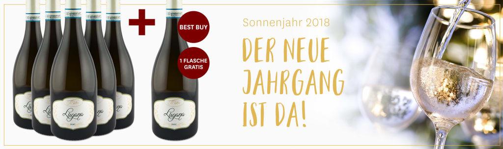 1 Flasche gratis: Lugana vom Gardasee