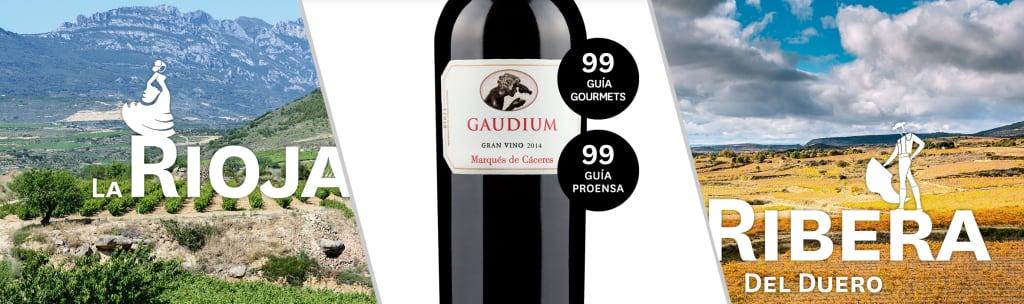Super-Riojaner 'Gaudium'  mit 2x 99 Punkten!