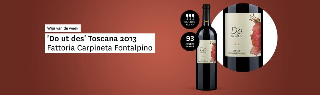 Fattoria Carpineta Fontalpino 'Do ut des' Toscana 2013