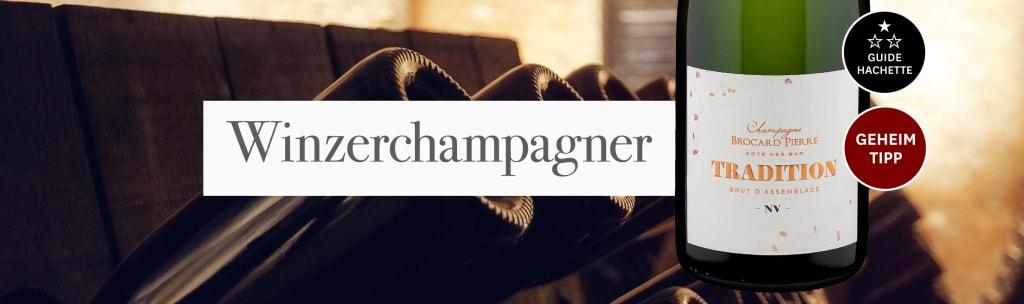 Innovativer Champagner gesucht? Voilà, 'Tradition' Brut!