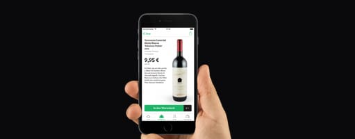 Die Wine in Black App