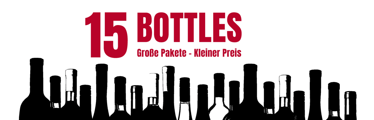 15 bottles
