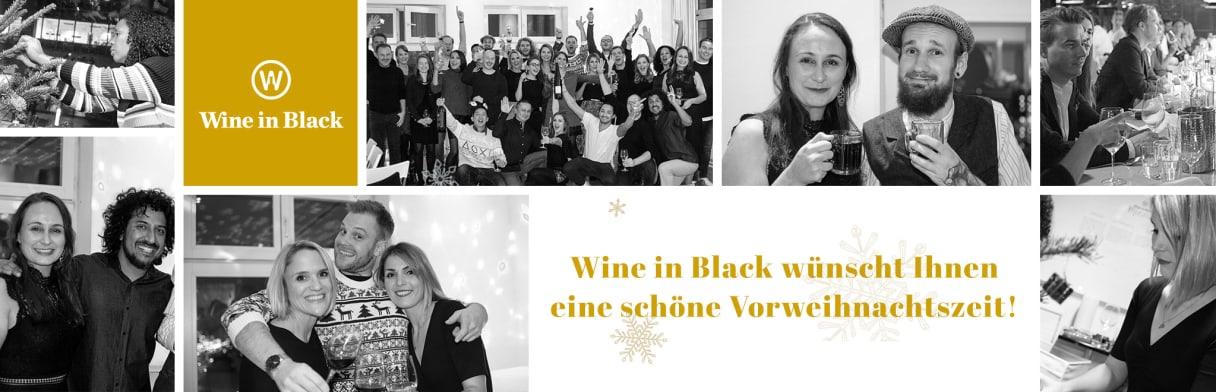 Wine in Black wünscht Ihnen eine schöne Vorweihnachtszeit!