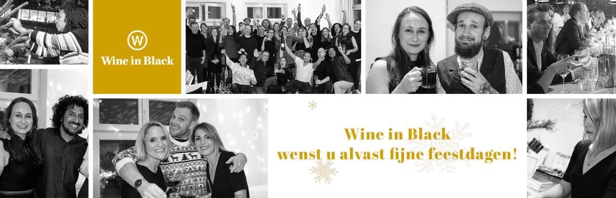 Wine in Black wenst u alvast fijne feestdagen!