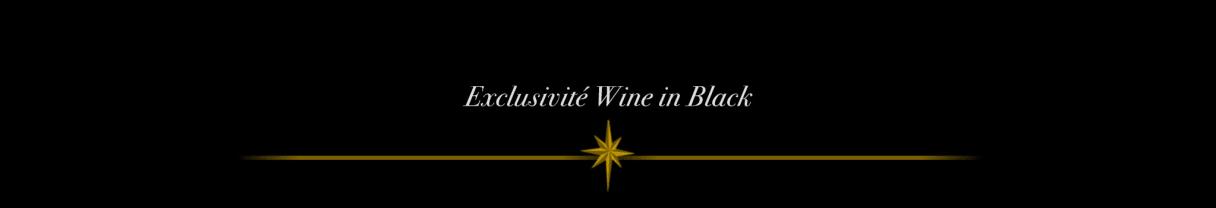 Exclusivité Wine in Black