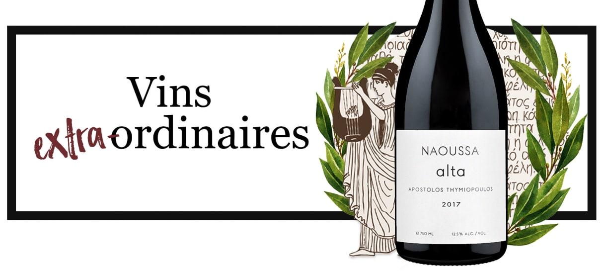 Vins extra-ordinaires Thymiopoulos Vineyards