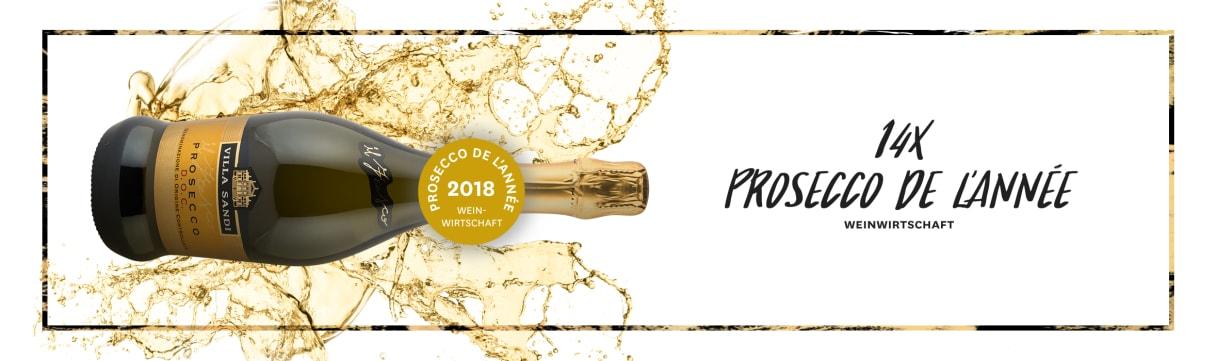 14 x Prosecco de l'année - Magazine Weinwirtschaft