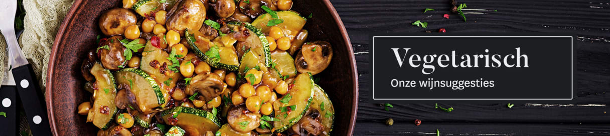 Wijnadvies voor vegetarische gerechten