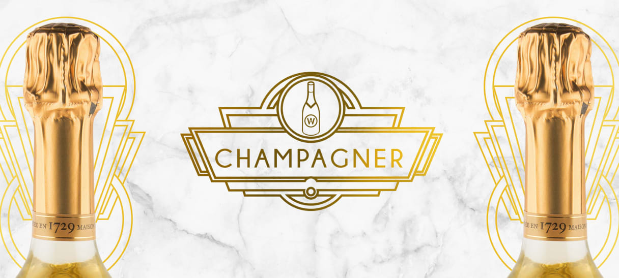 Champagner bei Wine in Black