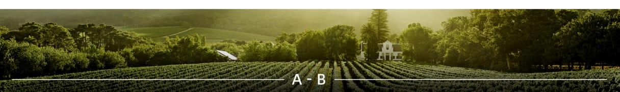 Weingüter A bis B