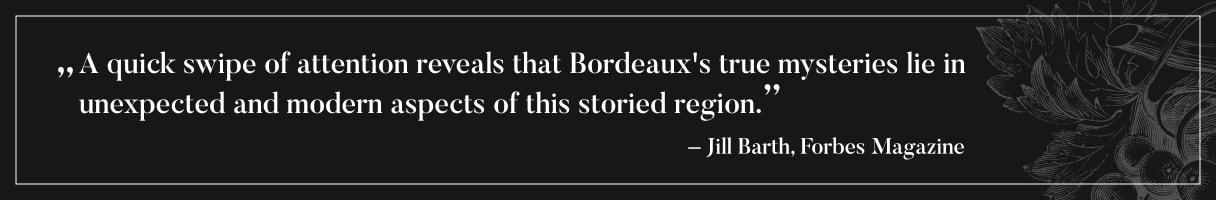 Forbes Zitat über Bordeaux
