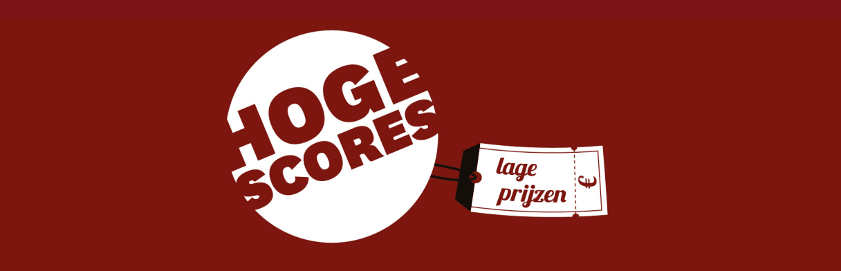 Hoge scores, lage prijzen