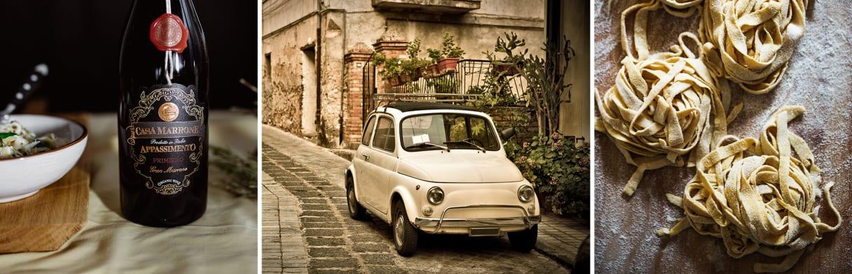 Italien, Apulien, Casa Marrone, Wein